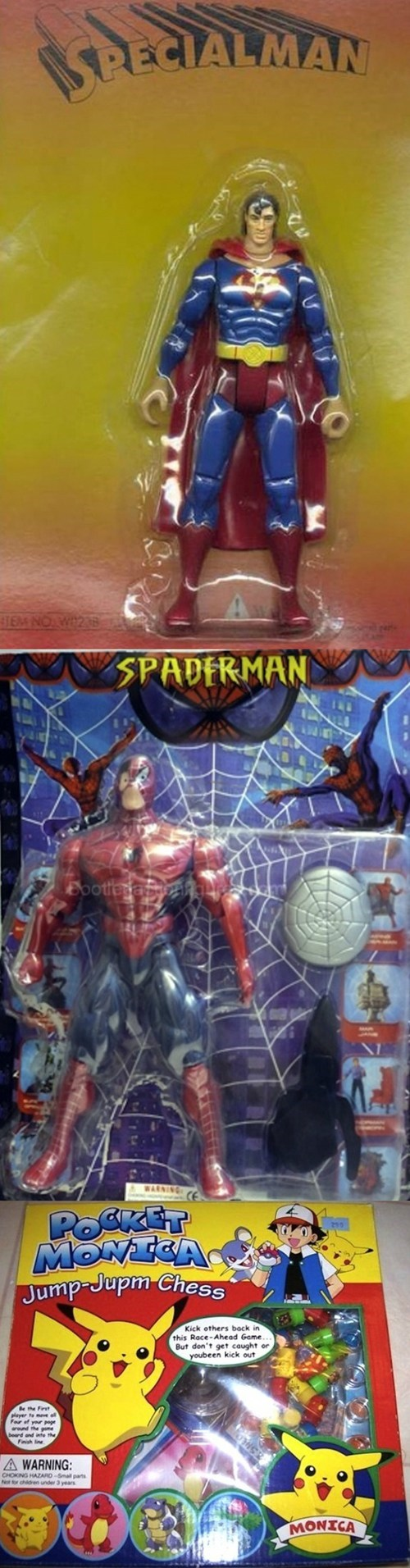 Amazing Knockoff Action Figures of the Day
