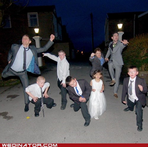 Kung Fu Fighting Wedding Kids