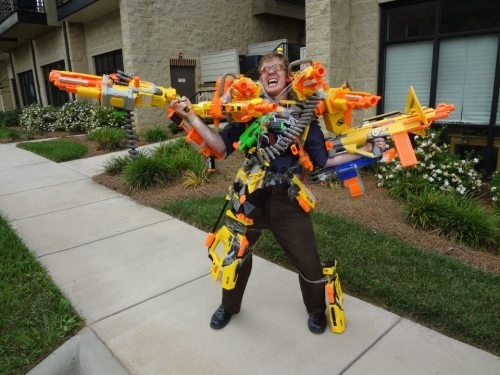 warrior,toys,Nerf,weapon,BAMF,Hall of Fame,best of week