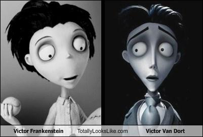Victor Frankenstein Totally Looks Like Victor Van Dort