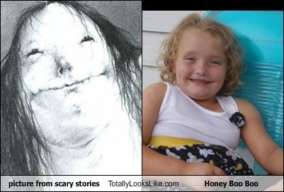 Picture from Scary Stories Book Totally Looks Like Honey Boo Boo Child