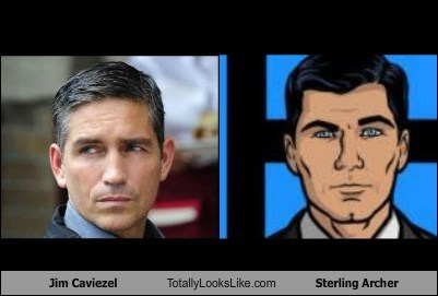 Jim Caviezel Totally Looks Like Sterling Archer
