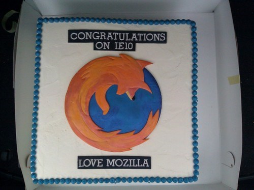 Internet Explorer Cake of the Day