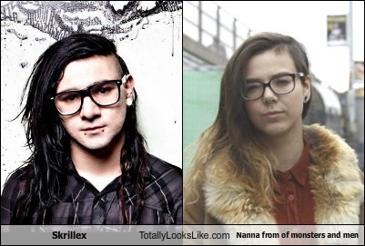 Skrillex Totally Looks Like Nanna from Of Monsters and Men