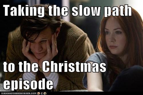 Sad,episode,karen gillan,waiting,Matt Smith,doctor who,amy pond,special