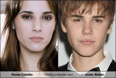 Renee Cataldo Totally Looks Like Justin Bieber