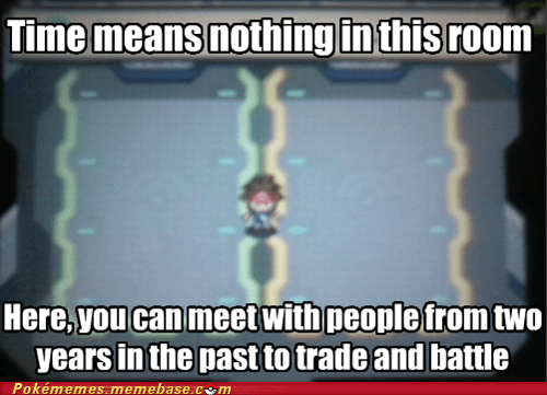 from the past,time travel,wifi room,video game logic