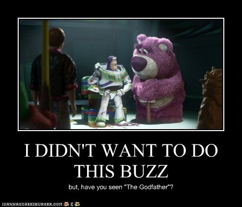 I DIDN'T WANT TO DO THIS BUZZ