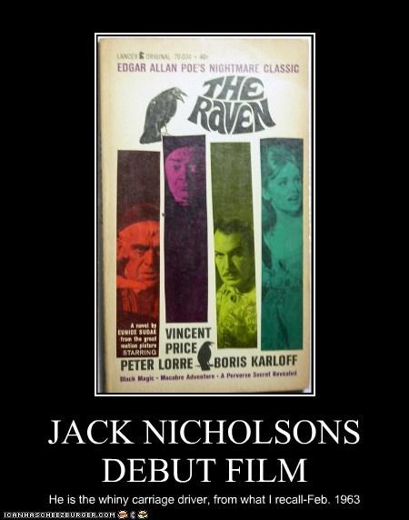 JACK NICHOLSONS DEBUT FILM