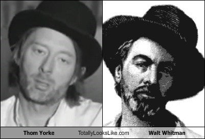 Thom Yorke Totally Looks Like Walt Whitman