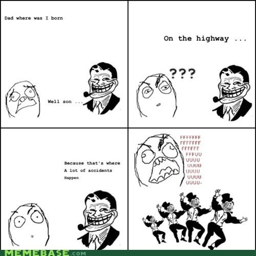 Babies,troll dad,accidents,fu guy