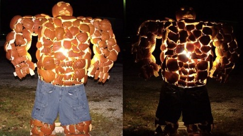 pumpkins,thing,Fantastic Four