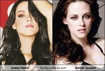 Amber Heard Totally Looks Like Kristen Stewart