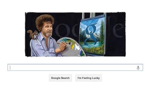 bob ross,google