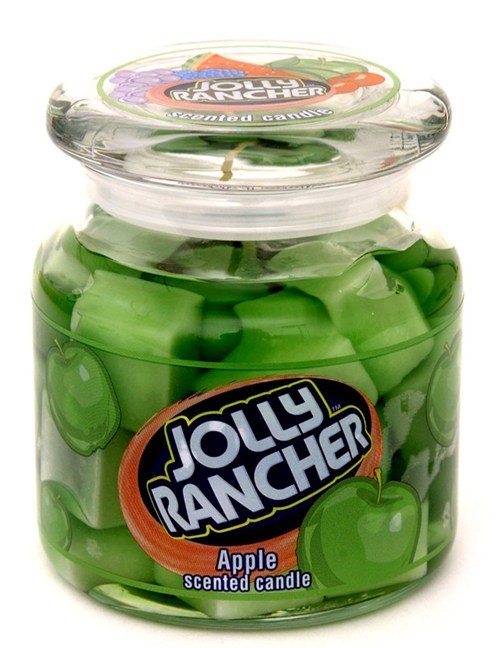 Jolly Rancher Candles of the Day