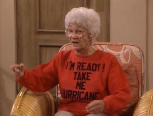 Estelle Getty Is Ready! of the Day