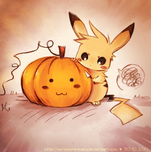 Pikachu, I Carve You!