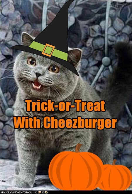 Trick-or-Treat With Cheezburger on Halloween!