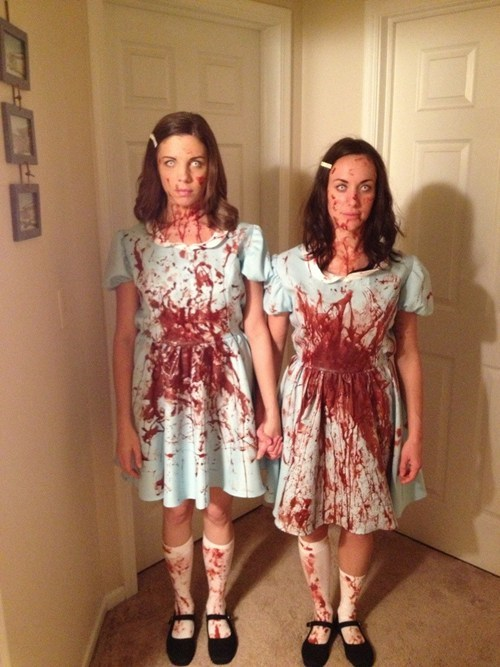 halloween costumes,twins,the shining