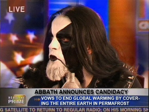 Abbath, Where Do You Stand on Abortion?
