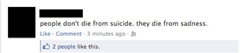 Pretty Sure It's the Suicide...