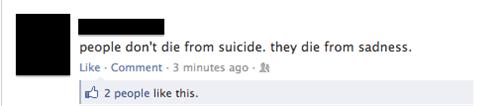 Pretty Sure It's the Suicide...
