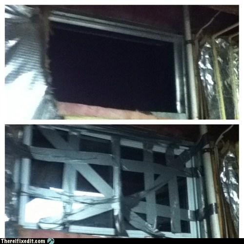 duct tape window,window washer's dream,window