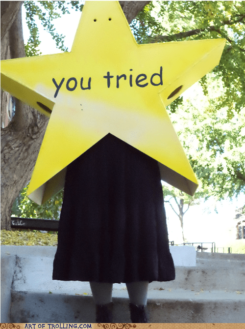 costume,you tried,halloween,star