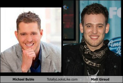 Michael Buble Totally Looks Like Matt Giraud