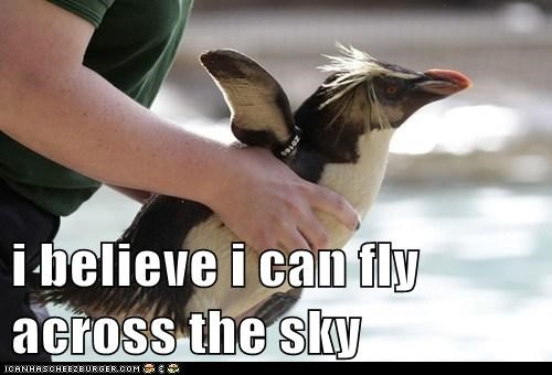 i believe i can fly across the sky