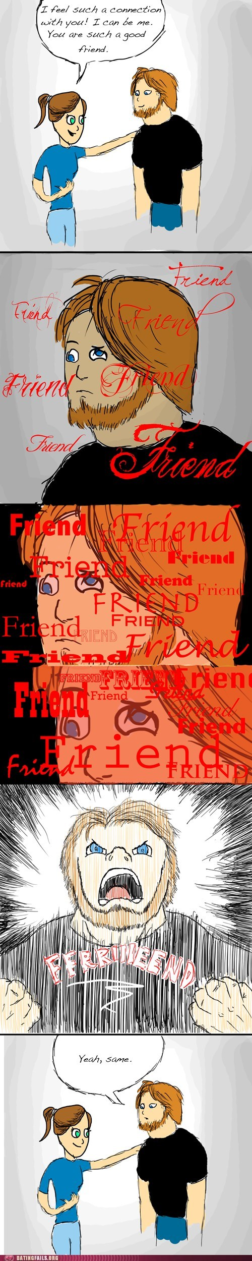 connected,friendzone,strife
