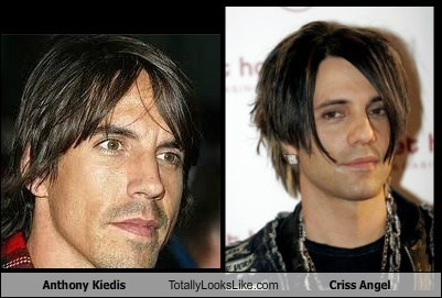 Anthony Kiedis Totally Looks Like Criss Angel
