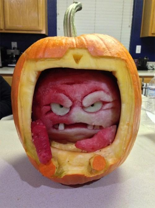 halloween,tmnt pumpkin,Kraang,ghoulish geeks,jack o lanterns,cartoons
