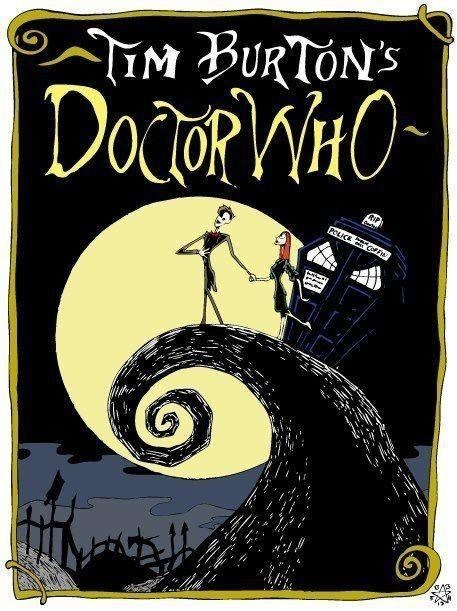 the nightmare before christmas,tim burton,doctor who