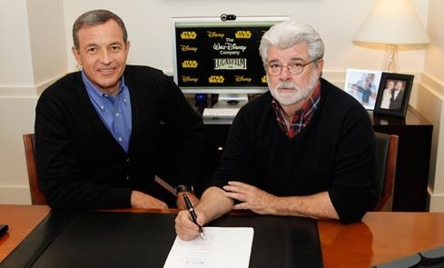 George Lucas Weighs In On Disney Buyout of the Day