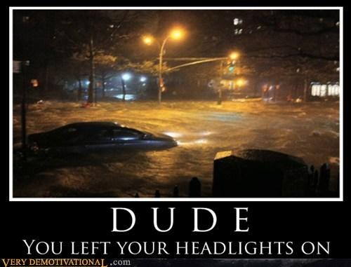 car,headlights,oops,dude