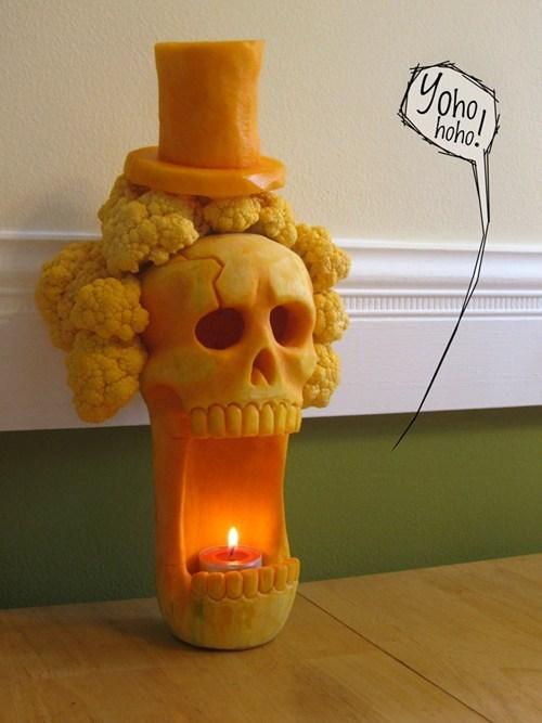 halloween,jack o lanterns,fan art,one piece,brook,pumpkins,ghoulish geeks