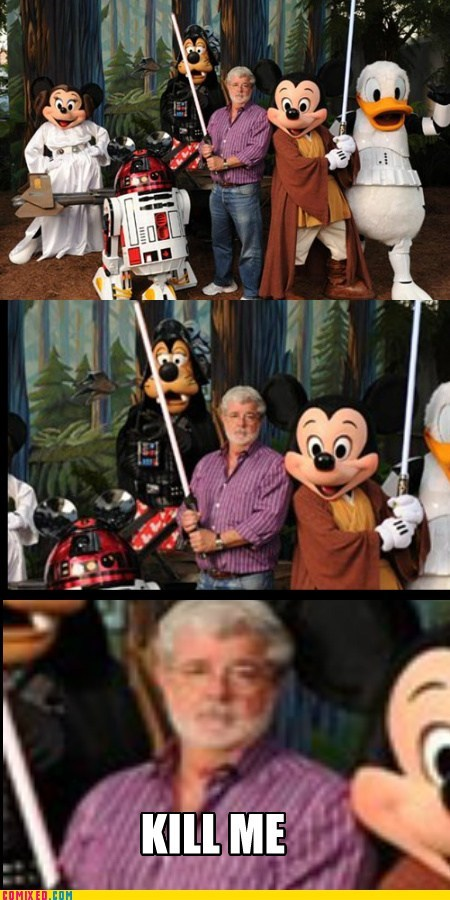 George Lucas' Thoughts On the Matter