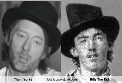 Thom Yorke Totally Looks Like Billy The Kid