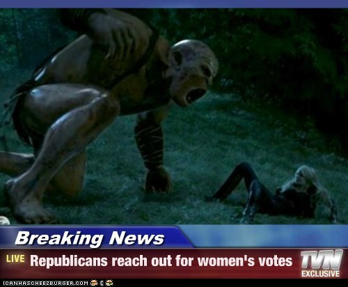 Breaking News - Republicans reach out for women's votes