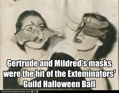 halloween,costume,masks,exterminators