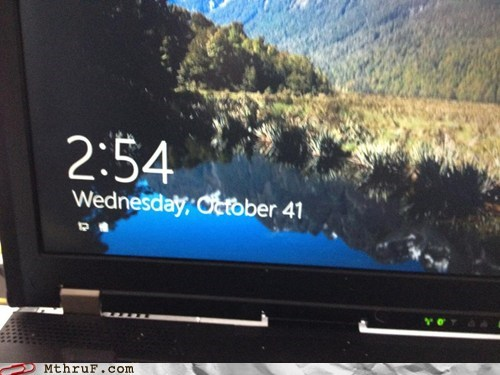 Windows 8 Halloween FAIL