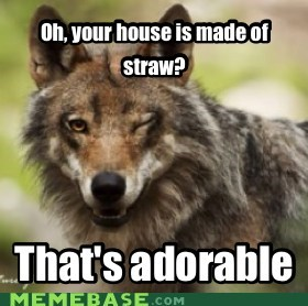Over Confident Wolf
