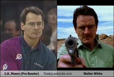 C.K. Moore (Pro Bowler) Totally Looks Like Bryan Cranston (Walter White from Breaking Bad)