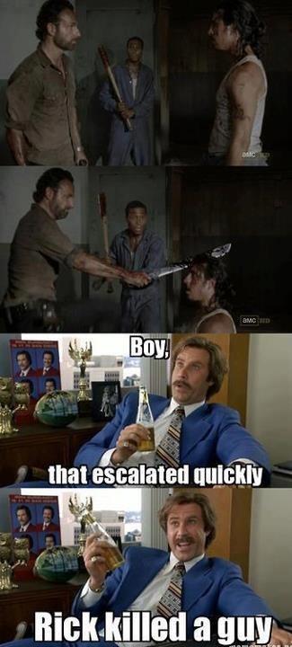 Andrew Lincoln,actor,amc,TV,celeb,comic,funny,The Walking Dead,Will Ferrell