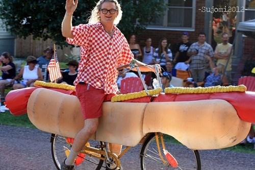 hotdog,weener,no time to explain,bike