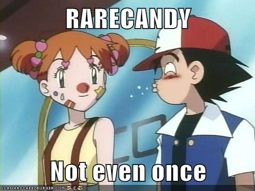 RARECANDY  Not even once