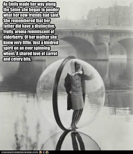 An English Woman in Paris