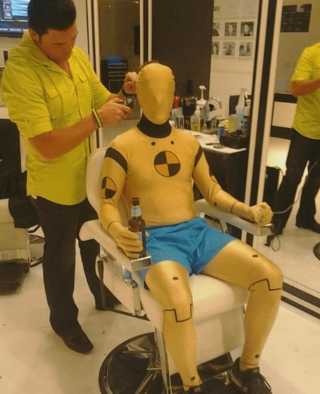 The Day and the Life of a Crash Test Dummy