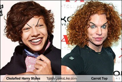 Cholafied Harry Styles Totally Looks Like Carrot Top